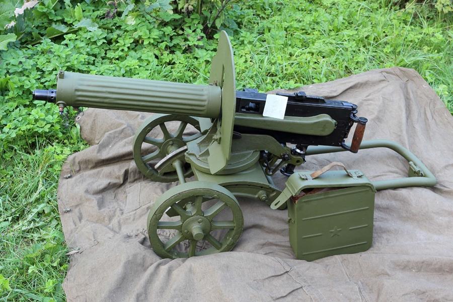 Охолощенный пулемет Максим